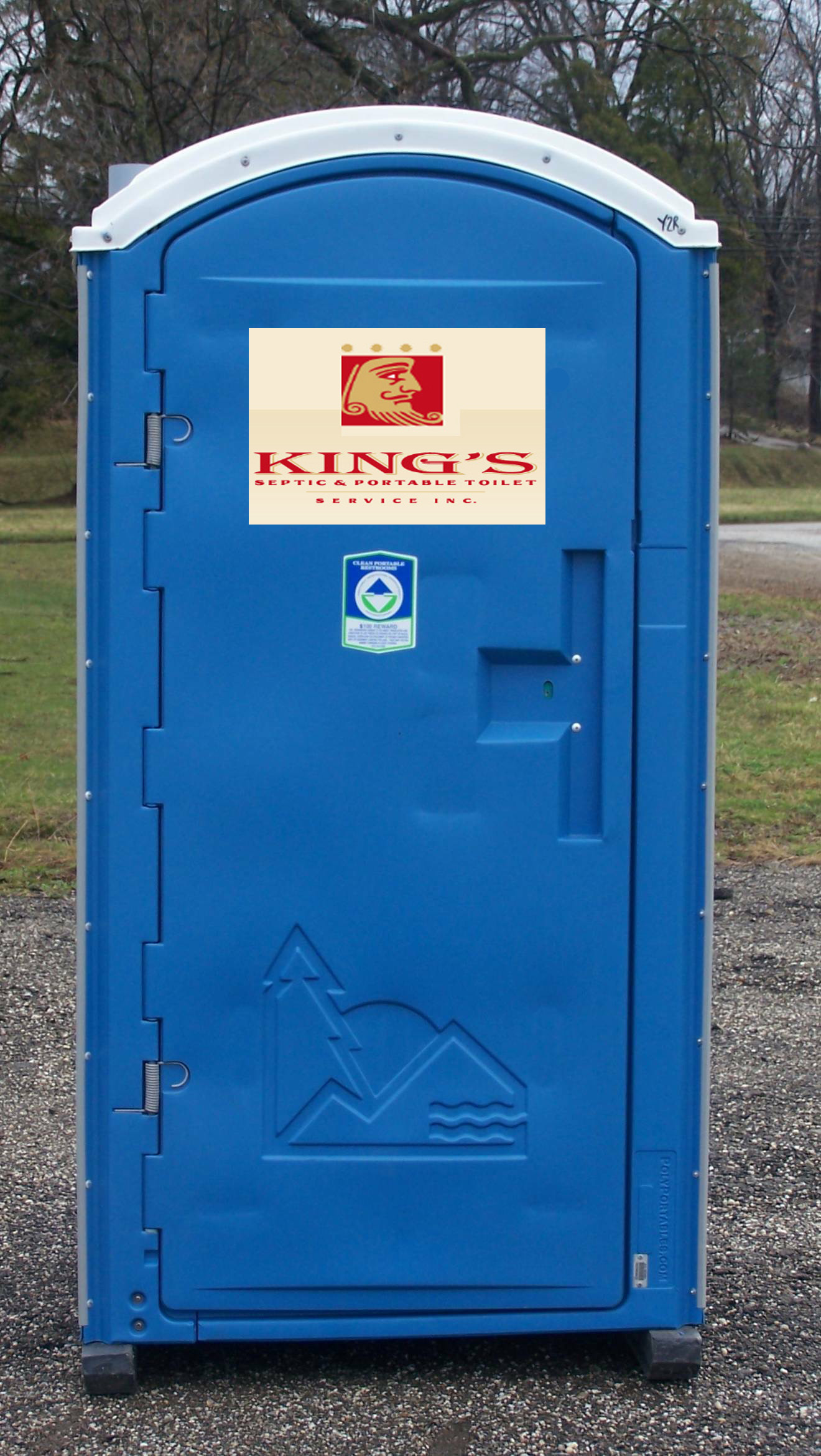 Gc5rw3d this king 39 s throne requires plumbing traditional for Porta johns for rent