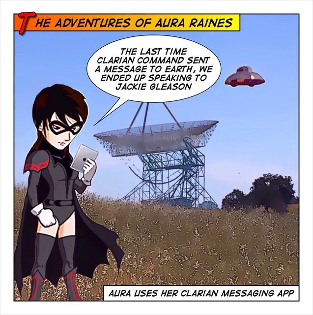 Aura and Interplanetary Communication