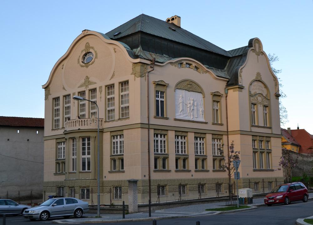 Městská knihovna v Chebu