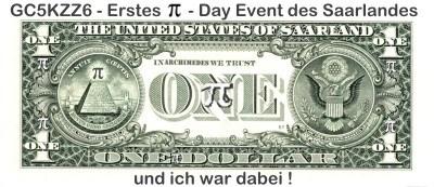 Banner des ersten PI-Day_Events im Saarland