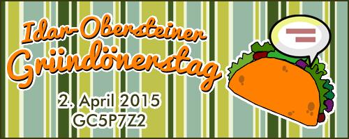 Idar-Obersteiner Gründönerstag - GC5P7Z2 - Event-Cache