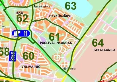 Gc5z6qm Oulun Kaupunginosat 61 Puolivalinkangas Traditional
