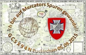 GC5X94N│Auf Mercators Spuren