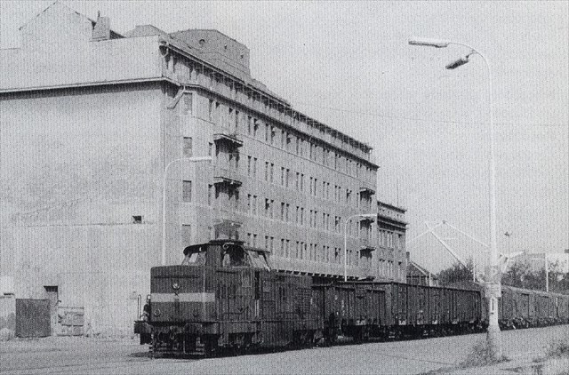 vlak pred OSEVOU