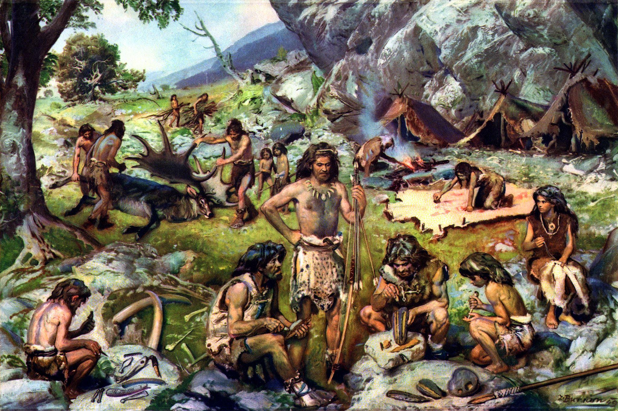 Люди каменного века. всемирная история. 5 класс - thinglink.