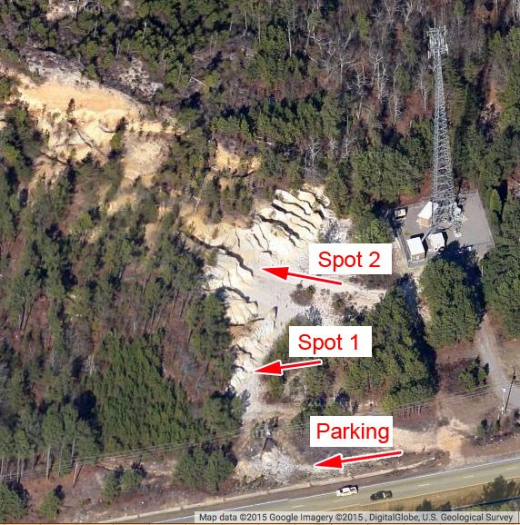 Gc63hkx Chalk Cliffs Or Vaucluse Udorthents Earthcache