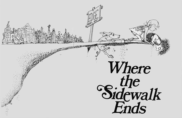 Where the sidewalk ends is a collection of poetry that while it can be appreciated by children can also be enjoyed by the adults reading it to them