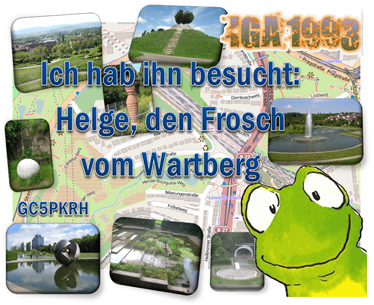 Helge, der Frosch vom Wartberg