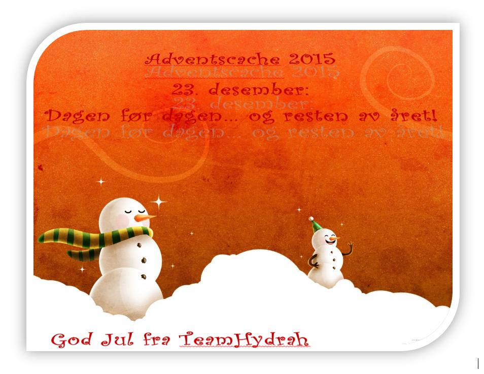 God Jul alle sammen! :-)