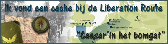 Banner LRE Caesar in het bomgat