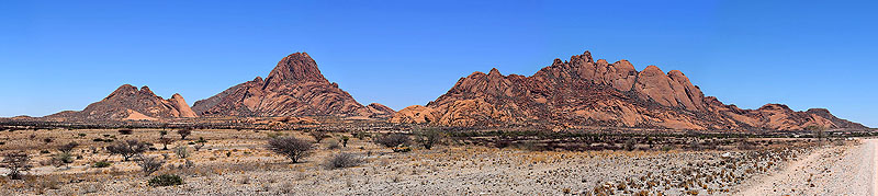 Spitzkoppe and Pontok Mountains