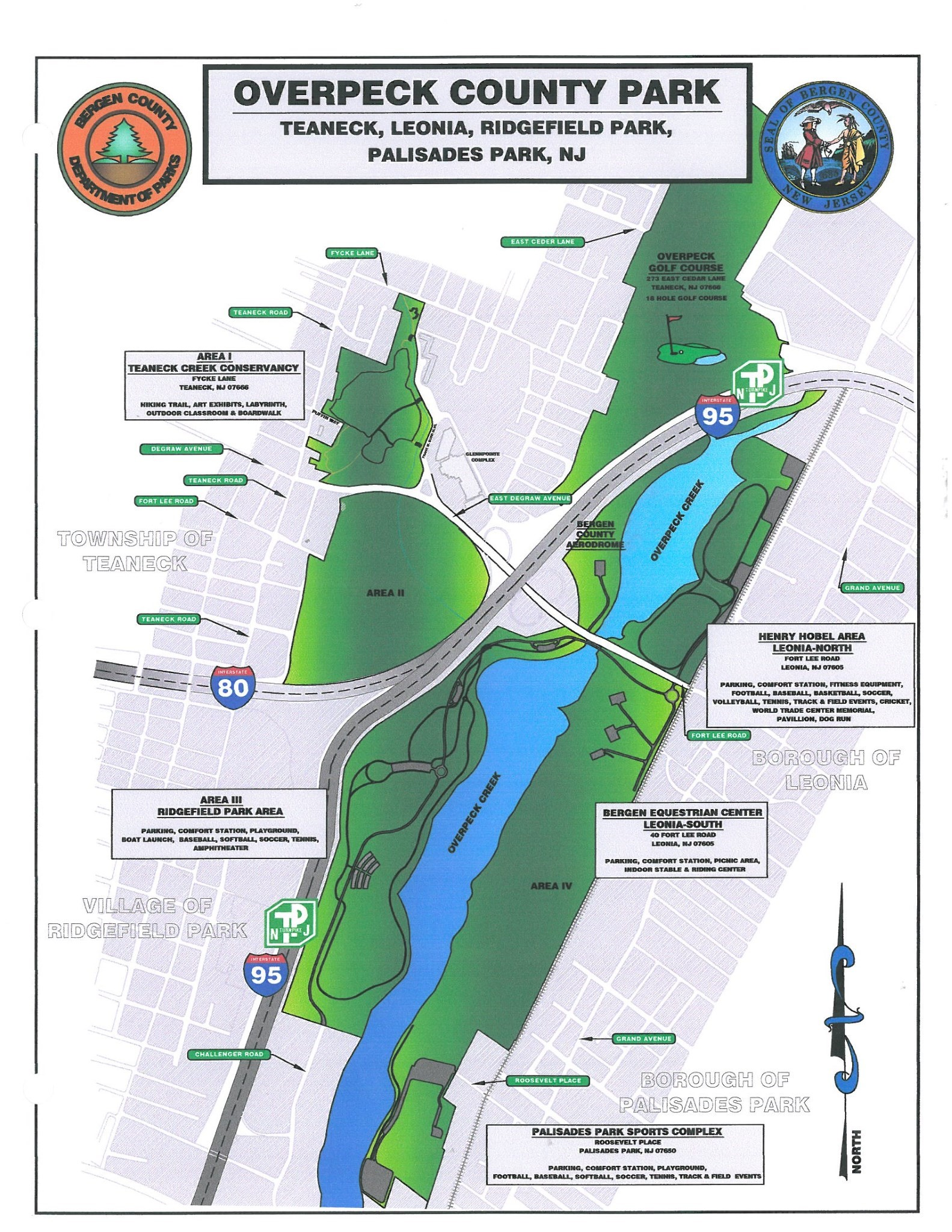 GC62EGR 15 - Overpeck Park Bike Trail (Traditional Cache) in New