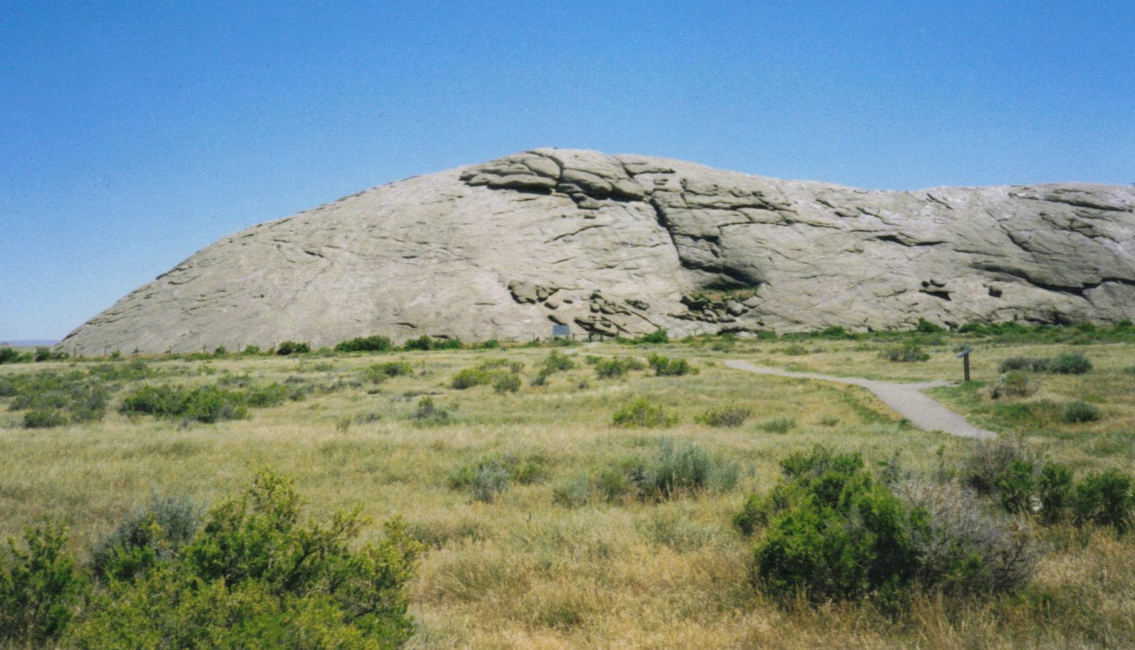 Gc61vjg Independence Rock Earthcache In Wyoming United