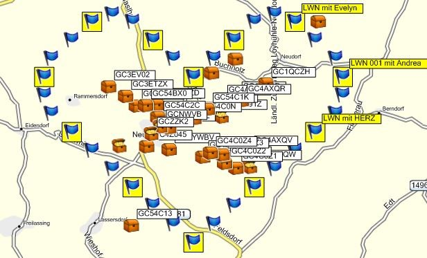 LWN Karte