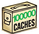 100,000 caches in Sweden!
