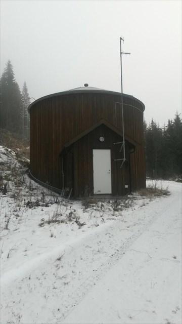 Ånes vannverk i Odnes, vanntårnet