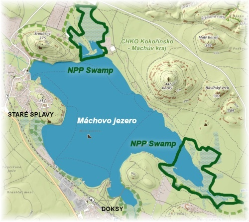 Swamp - mapa