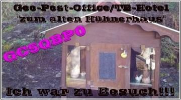 Geo-Post-Office / TB-Hotel zum alten Hühnerhaus