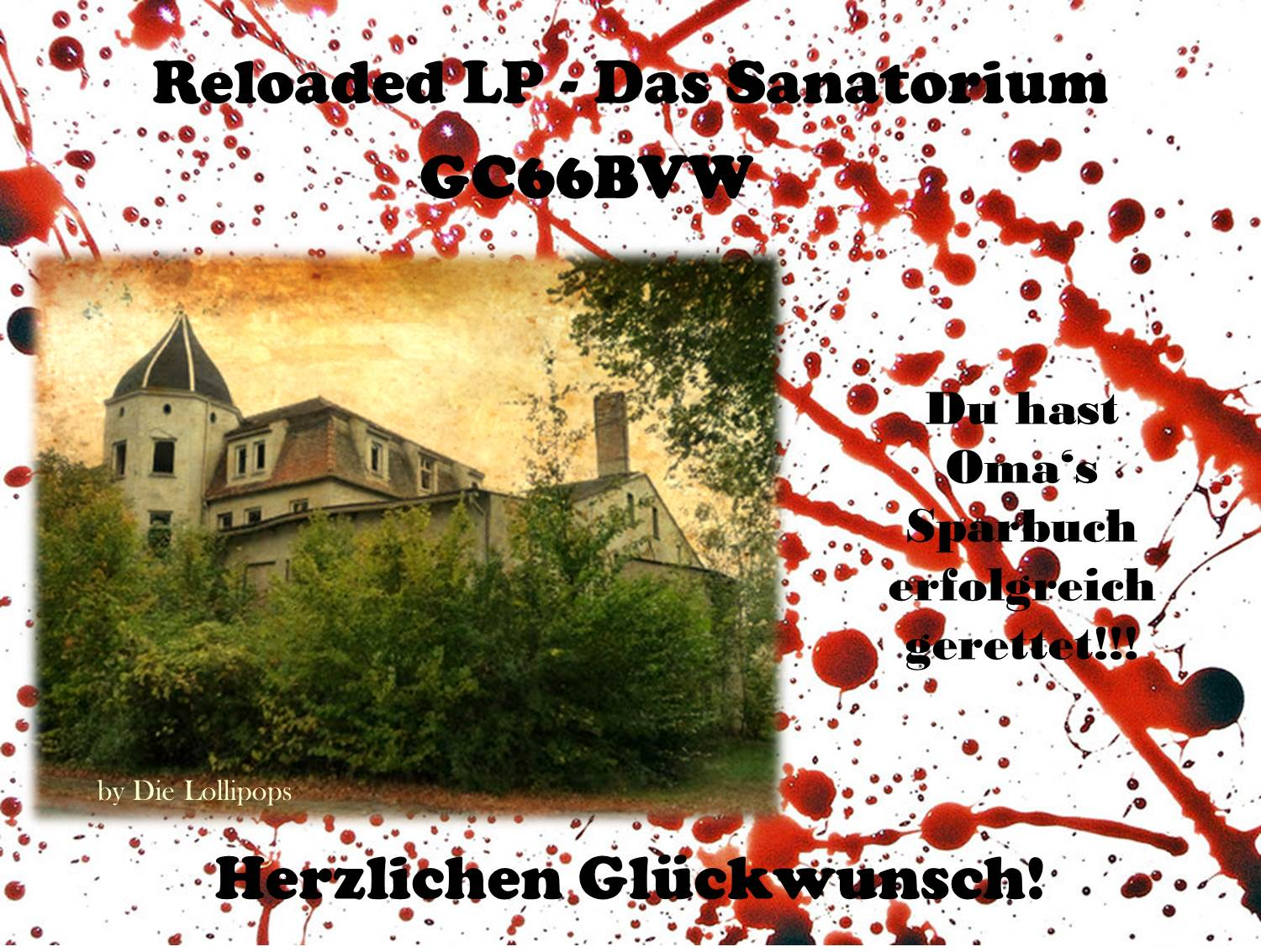 Reloaded LP - Das Sanatorium (P18)