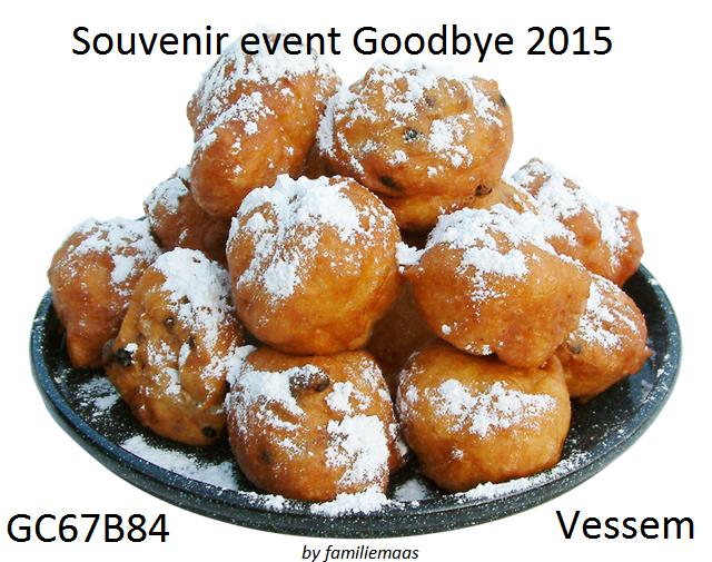 Souvenir event Goodbye 2015 Vessem