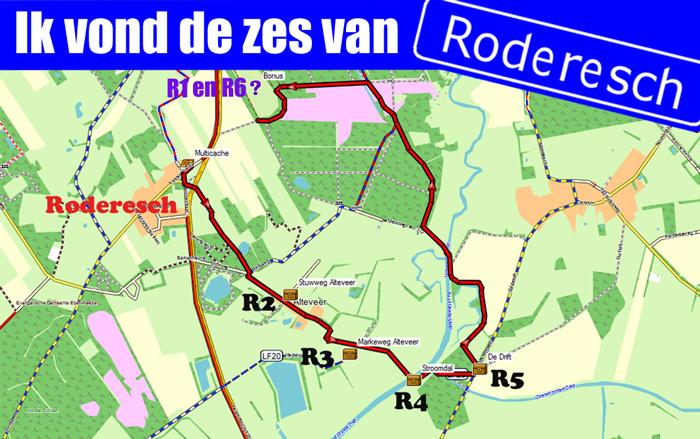 Banner De zes van Roderesch
