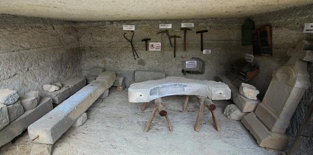 kamenárska dielňa