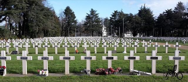 Le cimetière le la Chauvinière