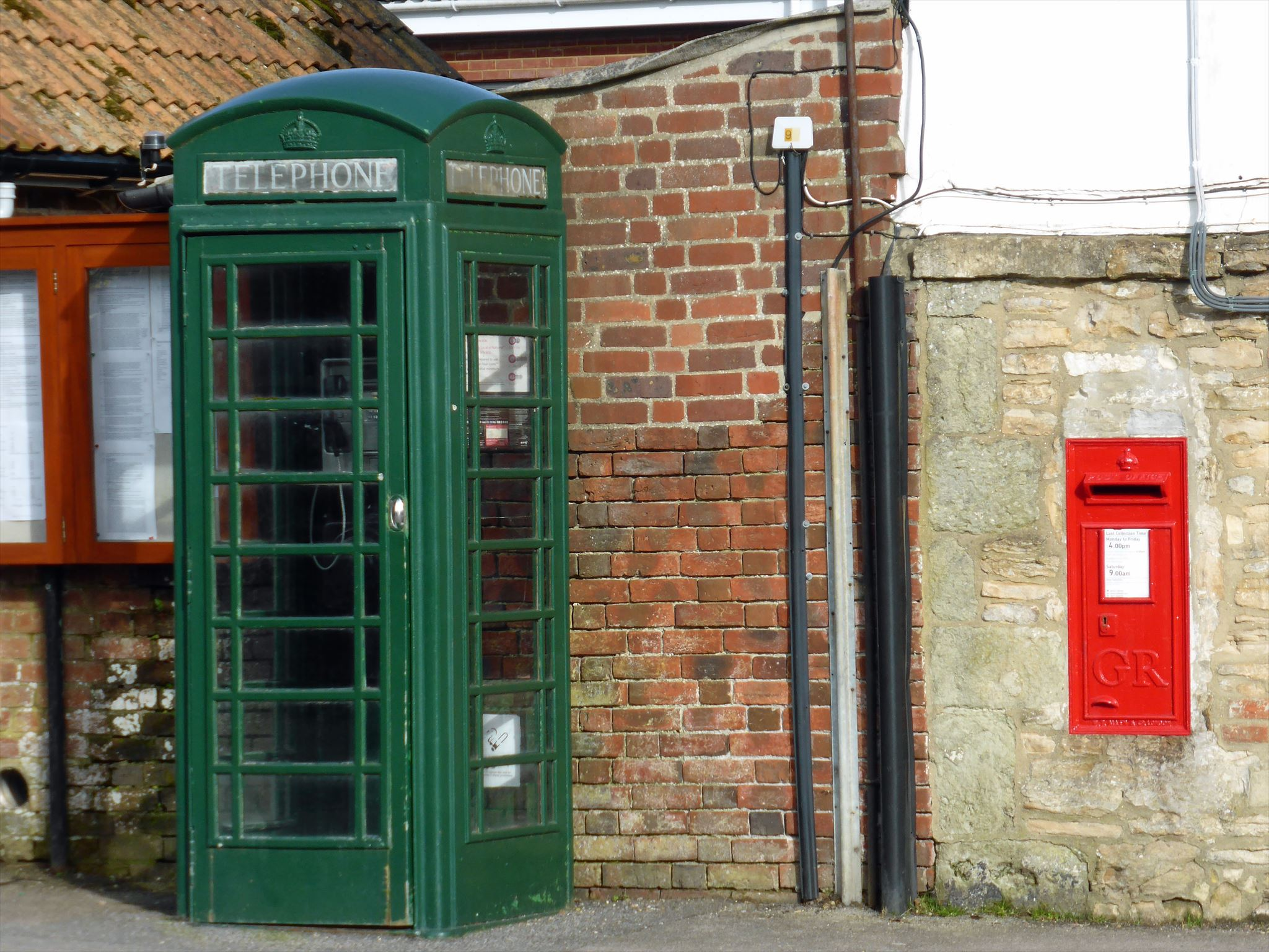 Red Telephone Box Listed Building