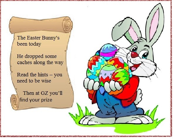 Gc5pd3y The Easter Bunny S Six Pack 6 Traditional Cache
